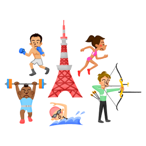 tokyo-tower-athletes